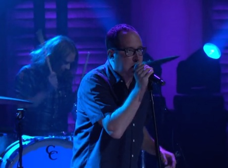"The Hold Steady ""I Hope This Whole Thing Doesn't Frighten You"" (live on 'Conan')"