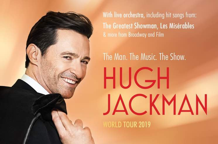 Hugh Jackman Is Going on His First-Ever Musical Tour