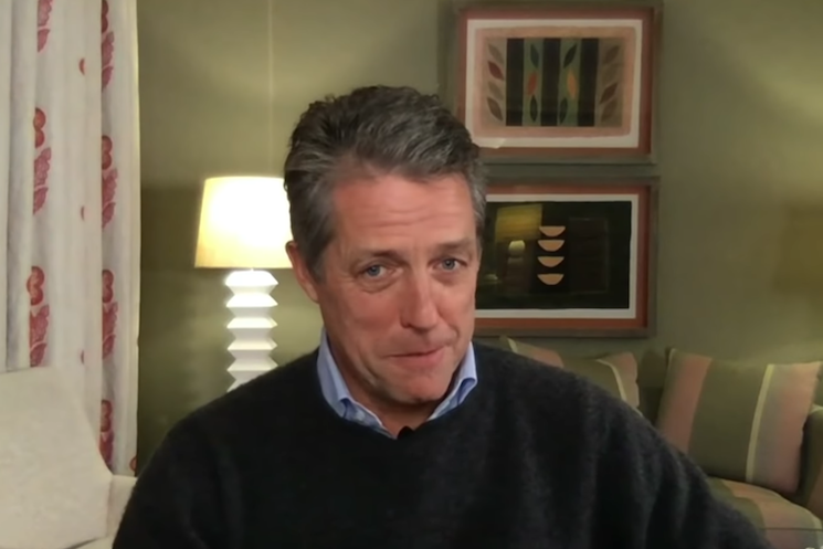Hugh Grant Tried Sniffing Garbage When He Lost His Sense of Smell to Coronavirus