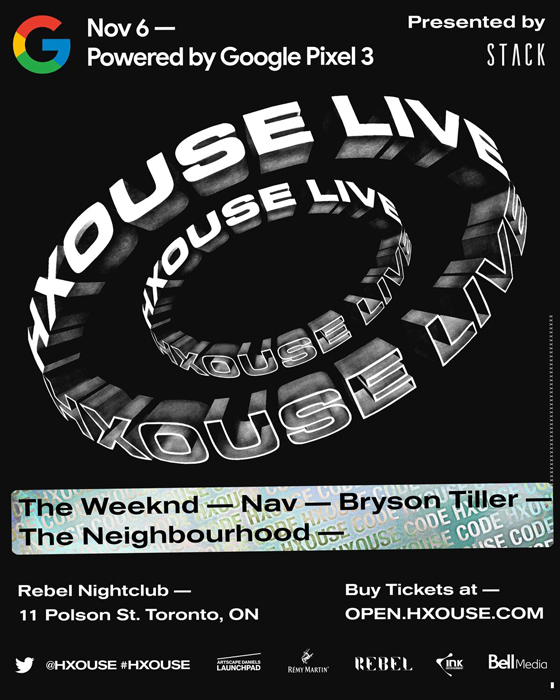 "The Weeknd, NAV, Bryson Tiller to Play Toronto's ""Open HXOUSE"" Launch"