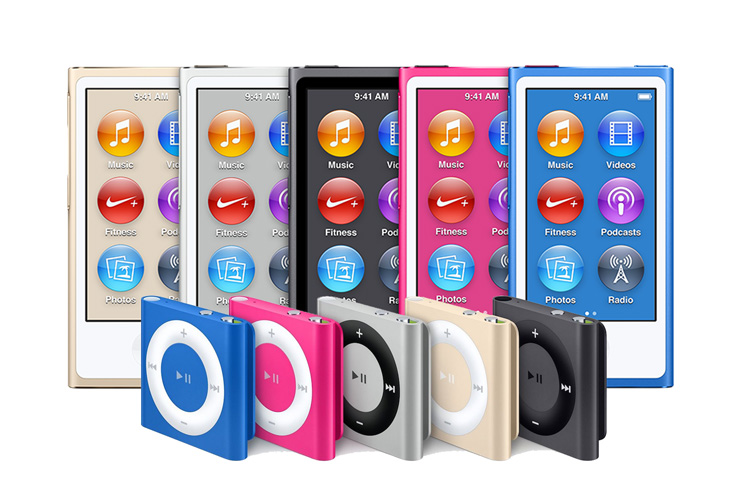 Apple Discontinues iPod Nano and Shuffle