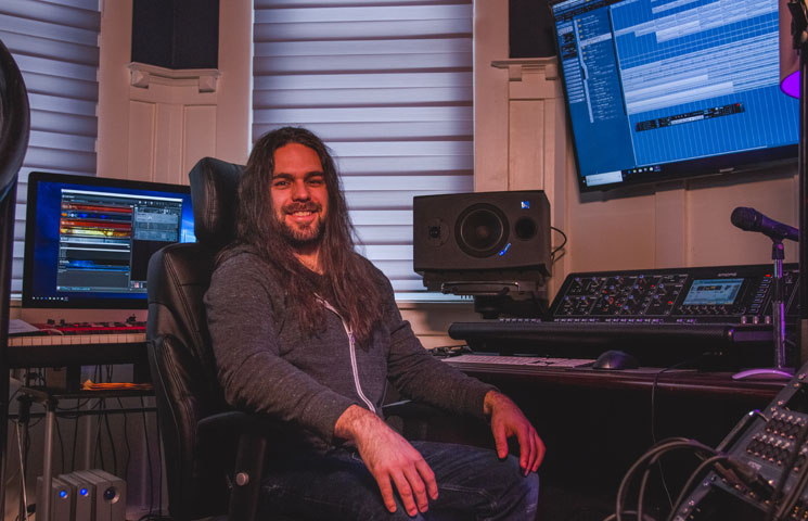 Icehouse Studio Brings Scandinavian Death Sounds to Goderich, Ontario
