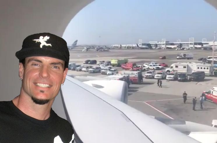 Vanilla Ice Was Trapped on the Quarantined Emirates Flight