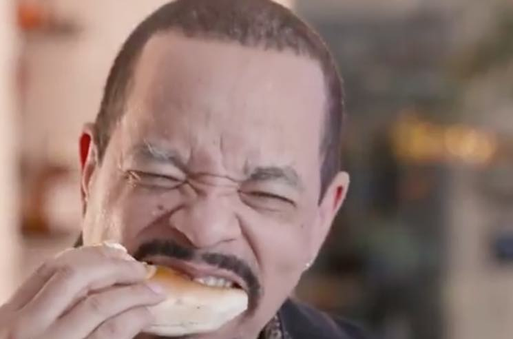 ​Ice-T Finally Tried a Bagel and Coffee (for a Dating App Ad)