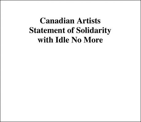 Feist, Gord Downie, John K. Samson Lend Support to Idle No More Movement