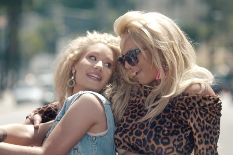 "Britney Spears & Iggy Azalea ""Pretty Girls"" (video)"