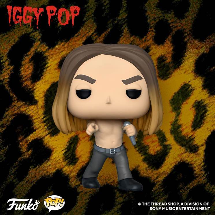 ​Iggy Pop Celebrated with His Very Own Funko Pop