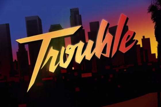 "Iggy Azalea ""Trouble"" (ft. Jennifer Hudson) (lyric video)"