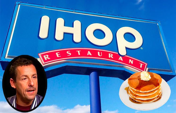 Adam Sandler Has Replied to That Hilarious IHOP TikTok