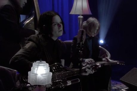 "Jack White ""Temporary Ground"" / ""Alone in My Home"" (live on 'Conan')"