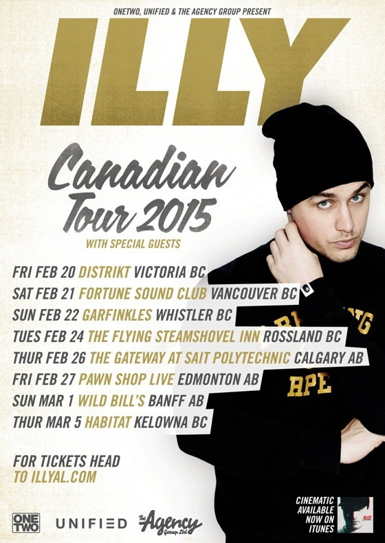 Illy Announces Western Canadian Tour