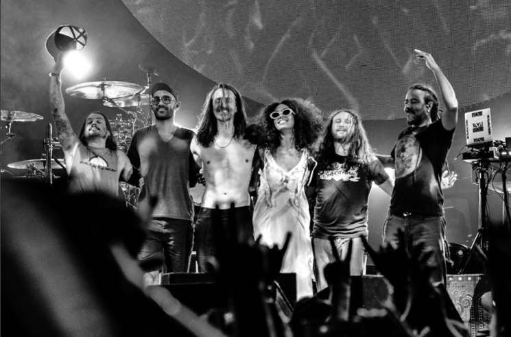 "Watch Solange Join Incubus Onstage for ""Aqueous Transmission"""