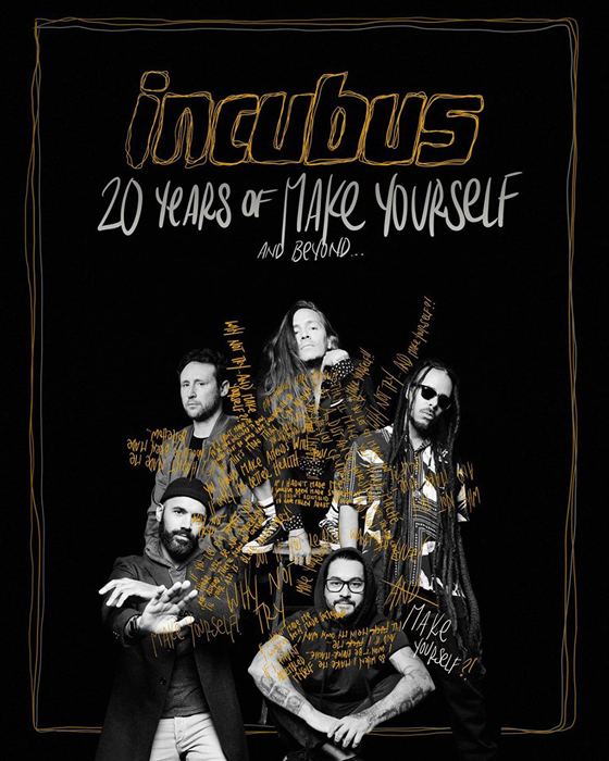 Incubus Take 'Make Yourself' on 20th Anniversary Tour