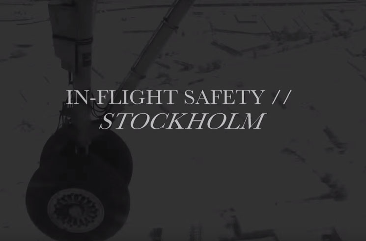 "In-Flight Safety ""Stockholm"" (lyric video)"