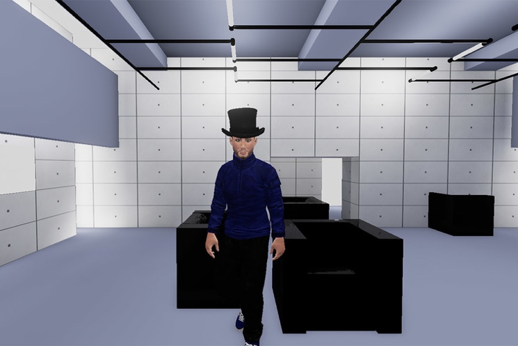 "Jamiroquai's ""Virtual Insanity"" Turned into Videogame"