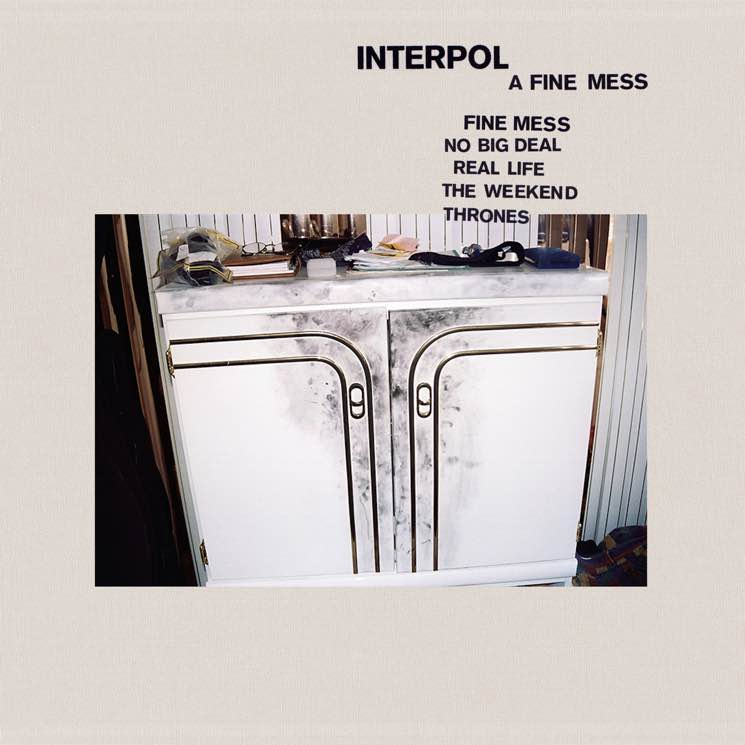 "​Interpol Announce 'A Fine Mess' EP, Share New Song ""The Weekend"""