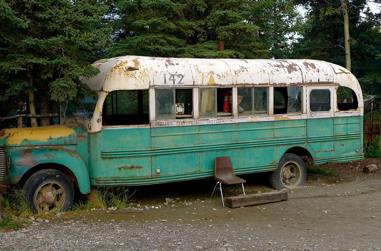 The 'Into the Wild' Bus Removed from the Alaska Backcountry