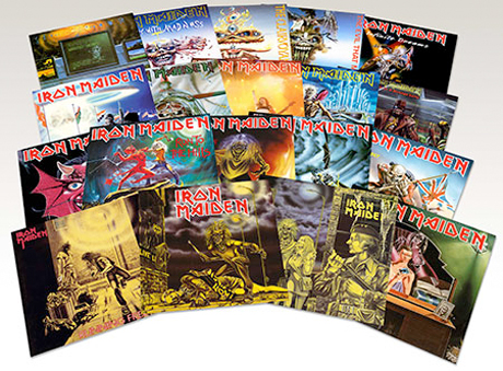 Iron Maiden Reveal Album Reissue Campaign and 7-inch Re-release Series