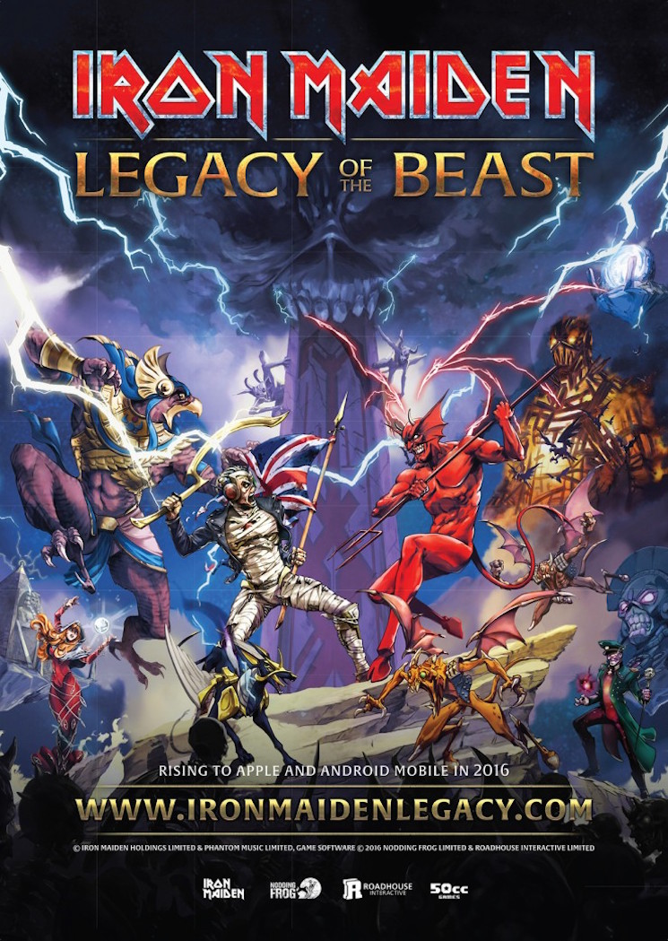 Iron Maiden Finally Immortalized with New RPG