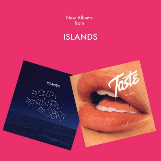 Islands Return with Two New Albums