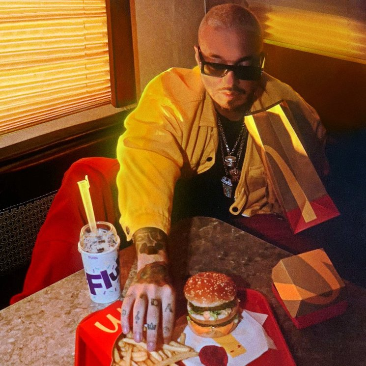 J Balvin Is Now Getting His Own McDonald's Meal
