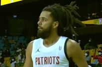 J. Cole Made His Pro Basketball Debut Against an Ex-Toronto Raptor