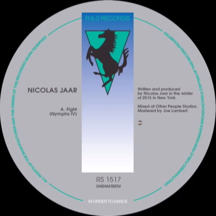 "Nicolas Jaar ""Fight (Nymphs IV)"""