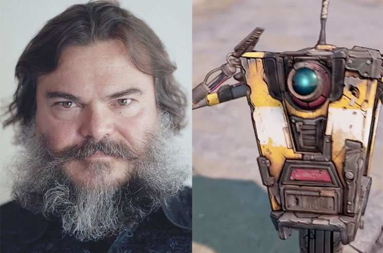 Jack Black Is Playing Claptrap in the 'Borderlands' Movie