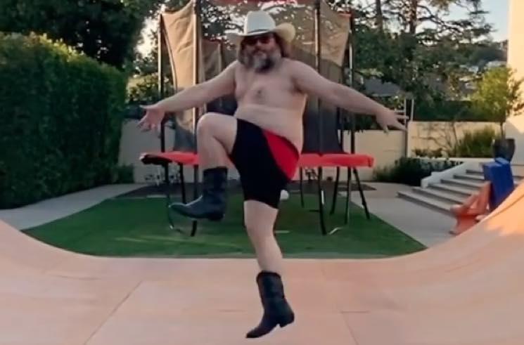 Jack Black Becomes New TikTok Star with Wild Shirtless Dance Video