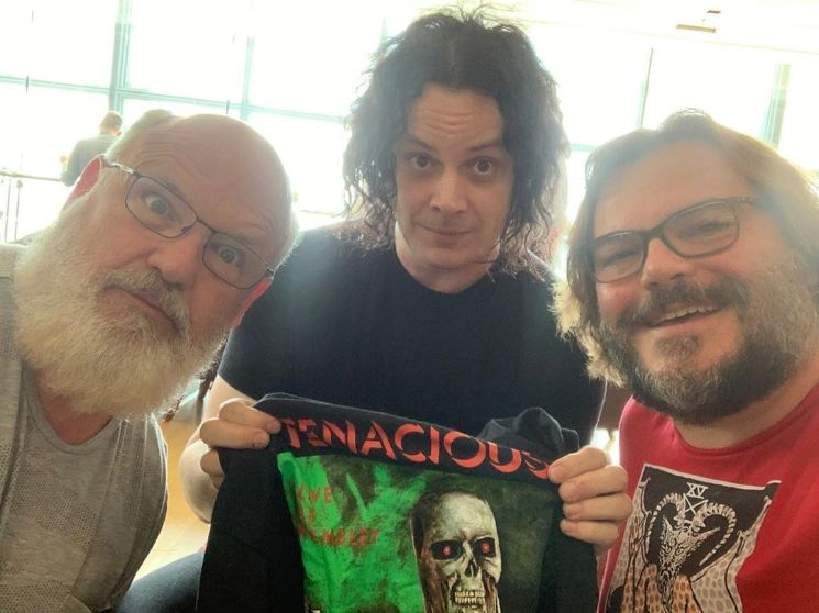 Jack White and Jack Black Finally Hung Out