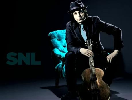 Jack White Live on 'SNL'