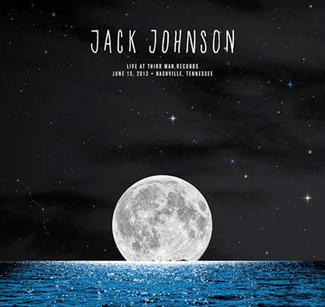 Jack Johnson to Record Live Album for Third Man Records