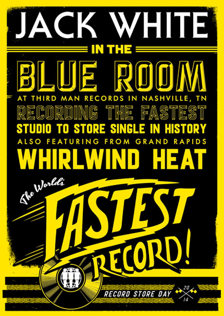 "Jack White Announces ""World's Fastest Released Record"""