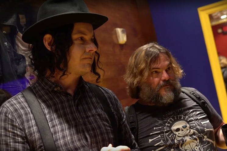 Watch Jack White and Jack Black Hang Out at Third Man Records
