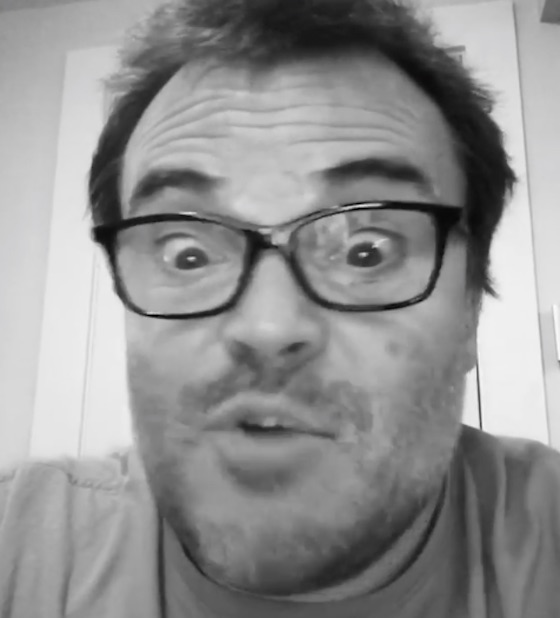 "Jack Black Lip-Syncs Fugazi's ""Waiting Room"" in the Most Jack Black Way Possible"