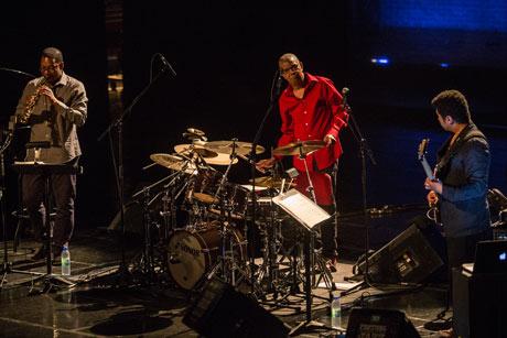 Jack De Johnette, Ravi Coltrane & Matt Garrison Theatre Jean Duceppe, Montreal QC, June 29