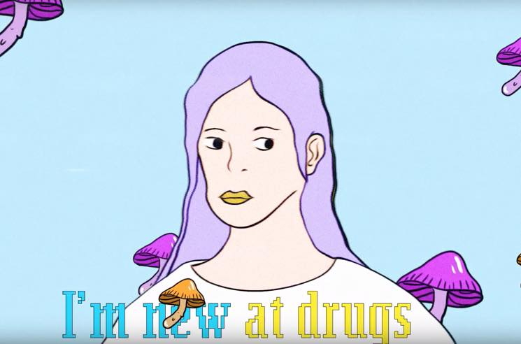 """Jackie Premieres Song About Moms Who Are """"New at Drugs"""""""