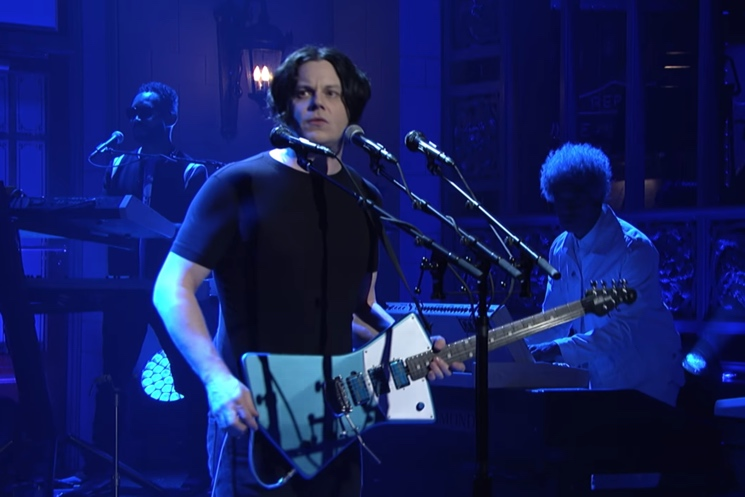 St. Vincent Is Seriously Stoked That Jack White Used Her Signature Guitar on 'SNL'