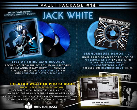 Jack White 'Dead Leaves and the Dirty Ground' (live at Third Man)