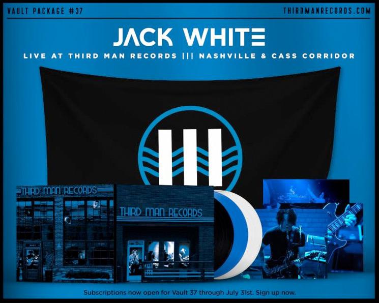 Jack White Announces New 3-LP Live Album