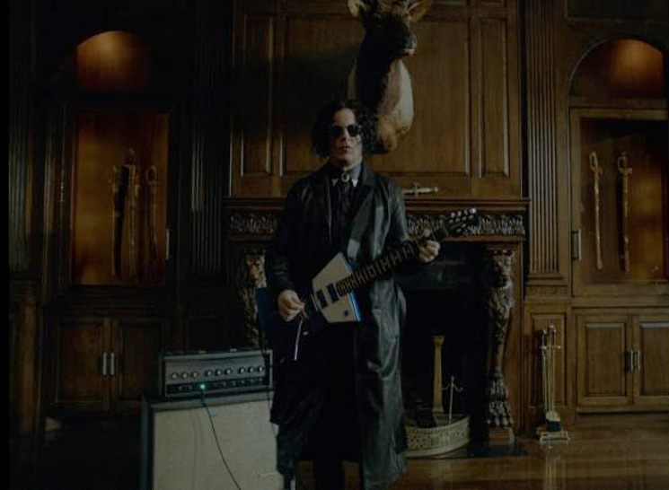 "Jack White Shares ""Corporation"" Video"