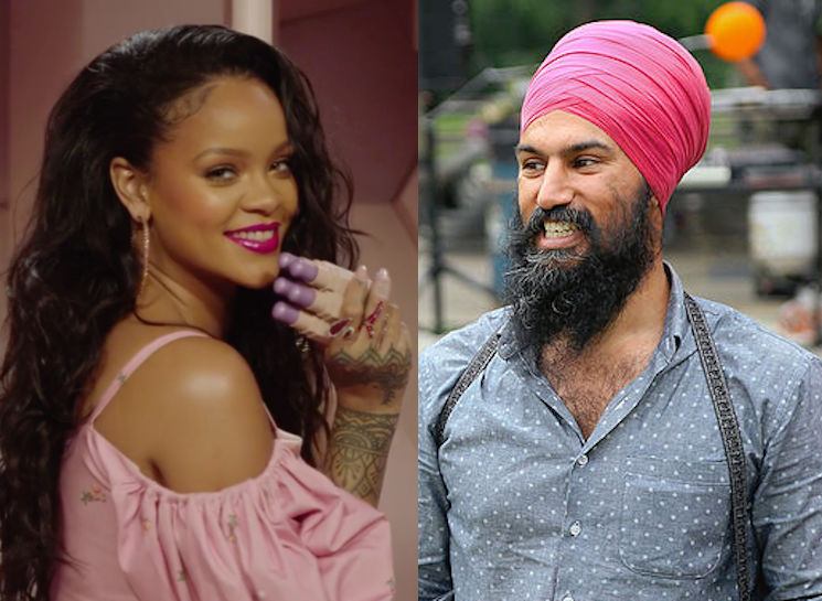 ​Jagmeet Singh Slid into Rihanna's DMs on Instagram