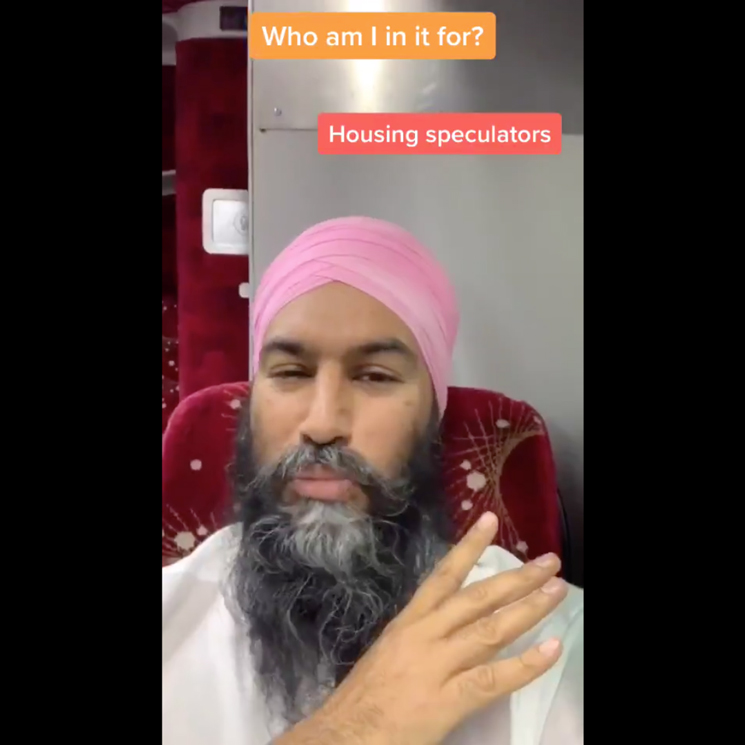 The Internet Is Obsessed with Jagmeet Singh's E-40 TikTok Video