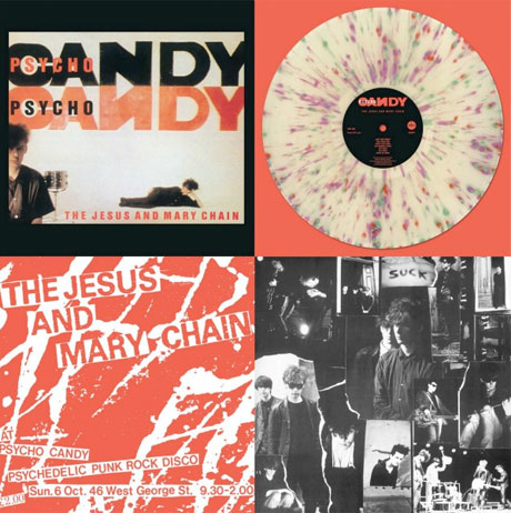 The Jesus and Mary Chain to Reissue 'Psychocandy' on Paint Splatter Vinyl for Record Store Day