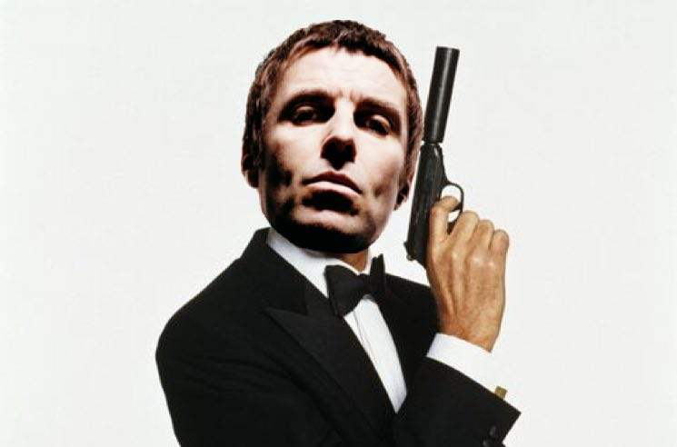 ​Liam Gallagher Wants to Write the James Bond Theme for 'No Time to Die'