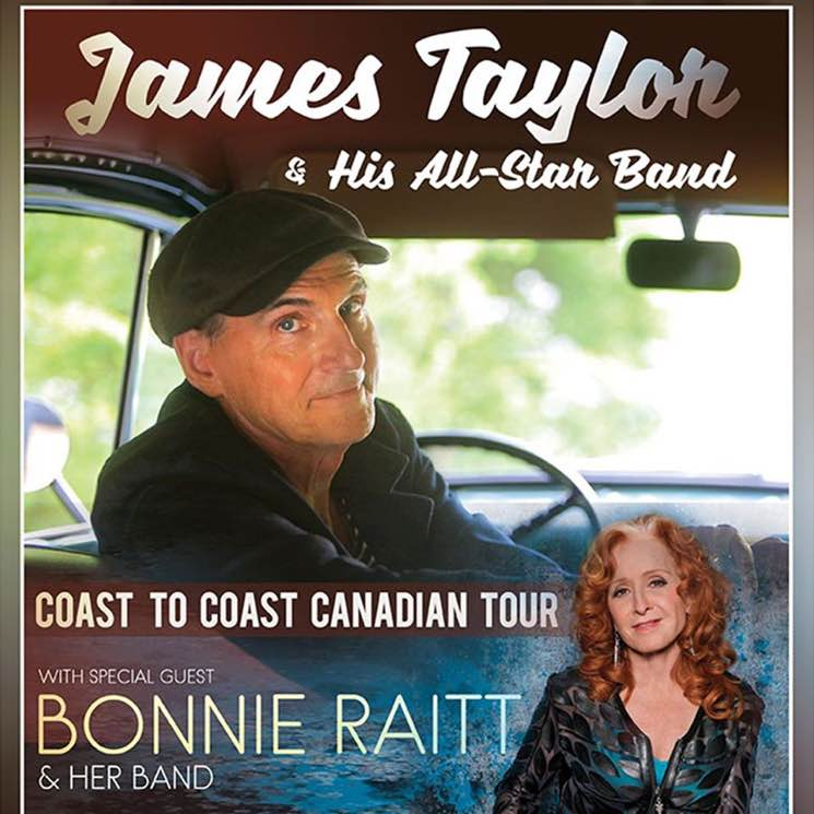 James Taylor and Bonnie Raitt Postpone Canadian Tour
