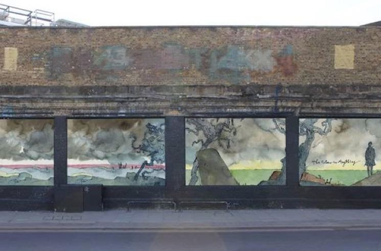 James Blake Hints at New Album Title via Murals in London and Brooklyn