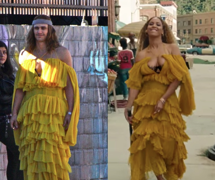 James Franco Is Walking Around L.A. Dressed Like Beyoncé