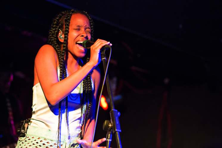 Jamila Woods The Garrison, Toronto ON, July 21