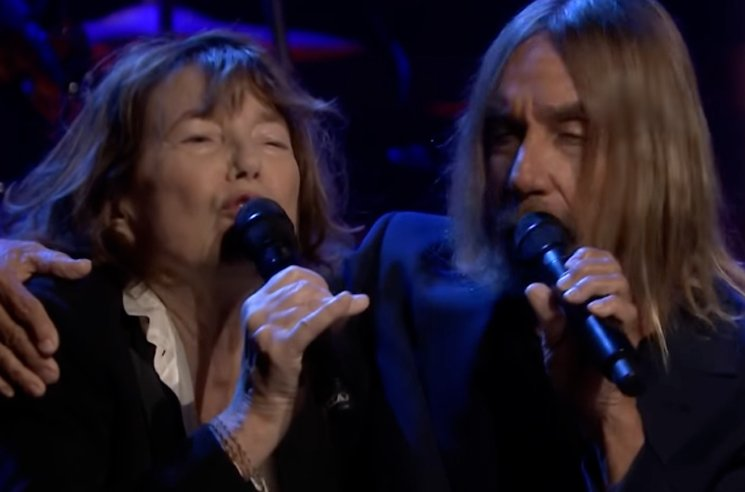 Watch Jane Birkin and Iggy Pop Cover Serge Gainsbourg on 'The Tonight Show'